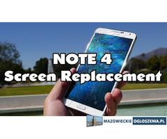 Samsung Note 4 N910 Wymiana Naprawa Szyby Wyświetlacza