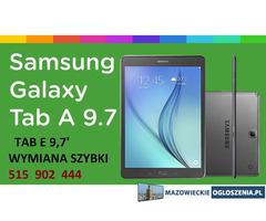 Wymiana szybki dotyku Samsung Galaxy Tab A Tab E