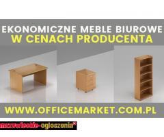 Ekonomiczne meble biurowe w cenach producenta